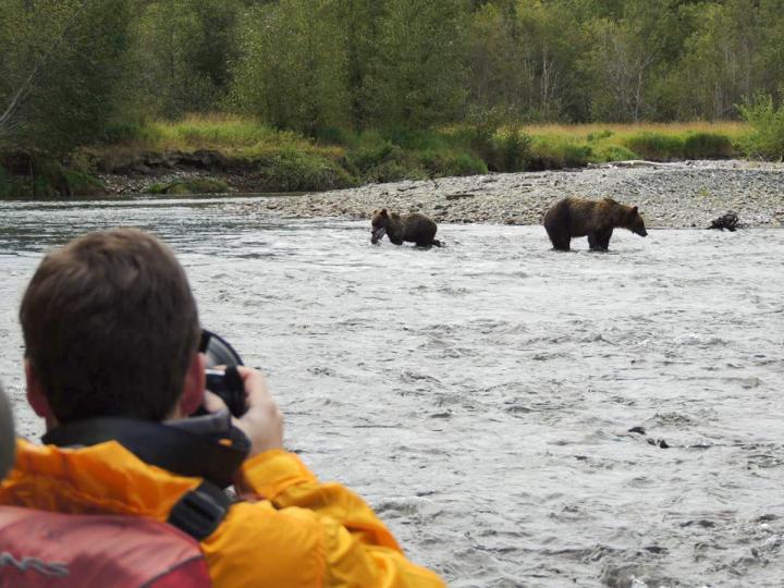 Float Trip zur Bärenbeobachtung