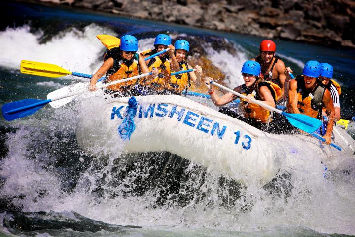 Thompson River Rafting 01.05.2019 - 29.09.2019 | Erwachsener | Halbtagestour | Power