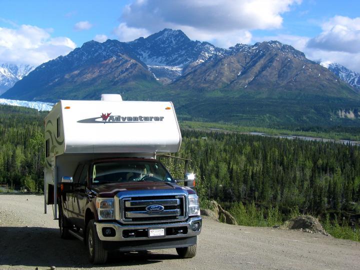 Wohnmobil ab Calgary