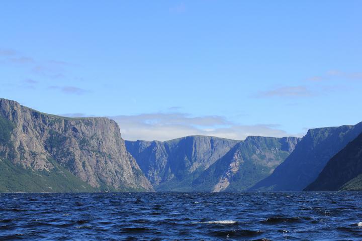 Von Fjorden und Eisbergen
