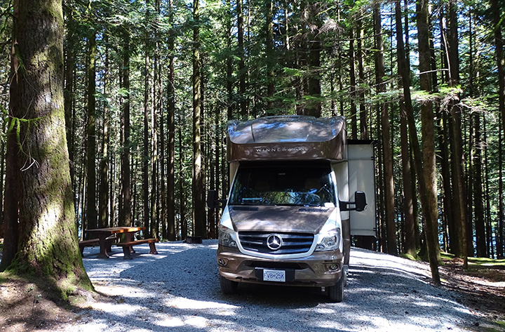 Golden Ears Campgrounds