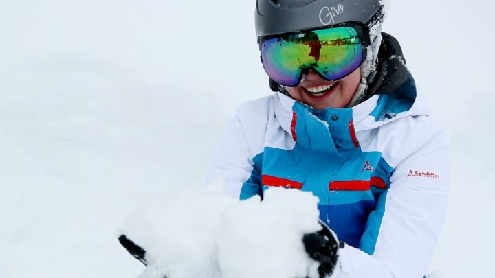Skifahren in den Rockies