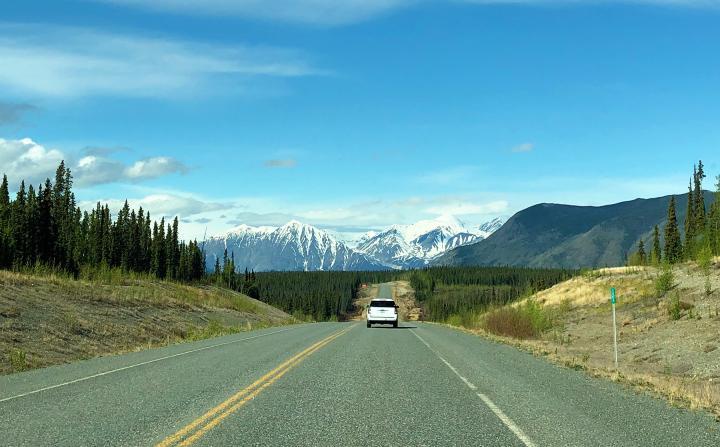Highway-Abenteuer Yukon