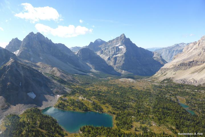 Mt. Assiniboine Wandertour