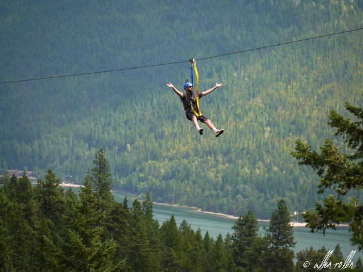 Kokanee Mountain Ziplining