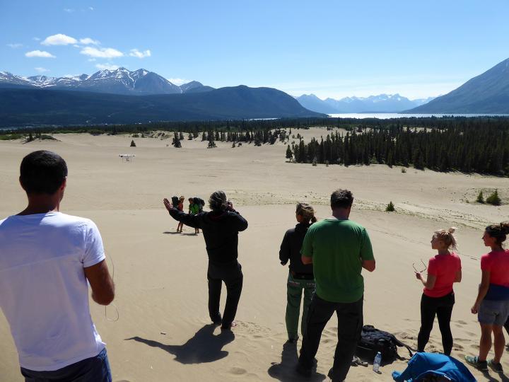 Schöffel im Yukon