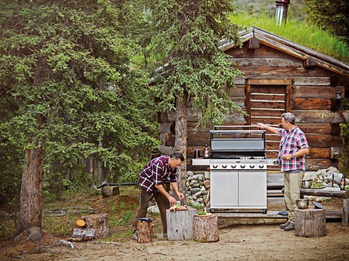 Rösle BBQ im Yukon