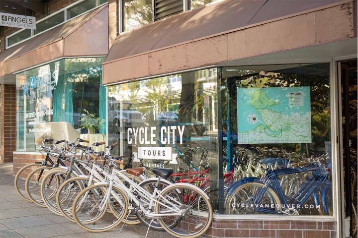 Fahrradmiete in Vancouver