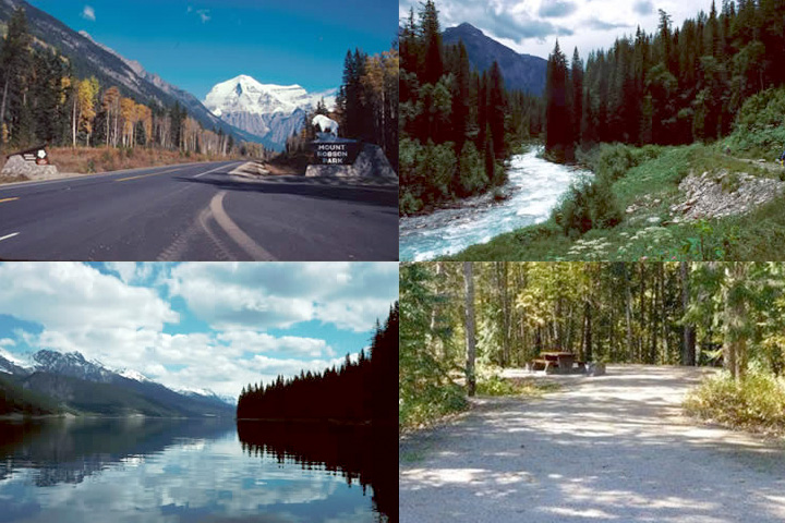 Mount Robson Campgrounds