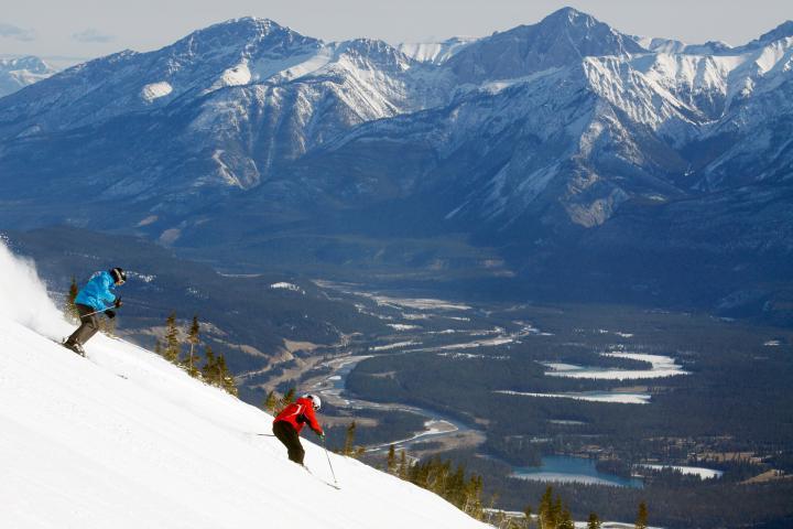 Marmot Basin Ski-Reise 1