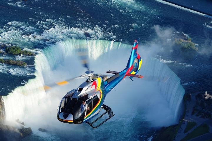 Helikopterflug Niagara Falls