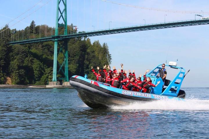 Fjordtour rund um Vancouver