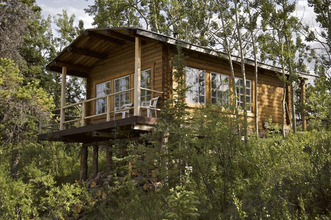 Kluane Log Cabin