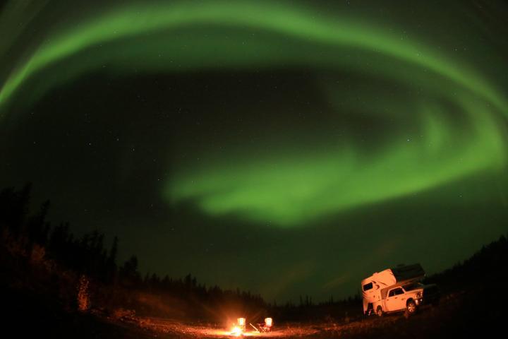 Im Camper zu den Nordlichtern