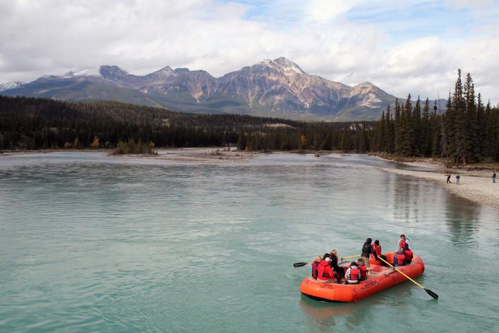 Athabasca River Raft/Float