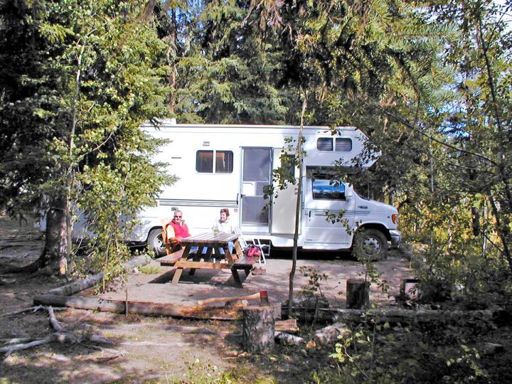 Camping-Package Ten-ee-ah Lodge