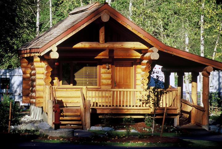 Riverside Log Cabins 01.05.2020 - 09.10.2020 | 1 Person im Zimmer (Single) | Cabin