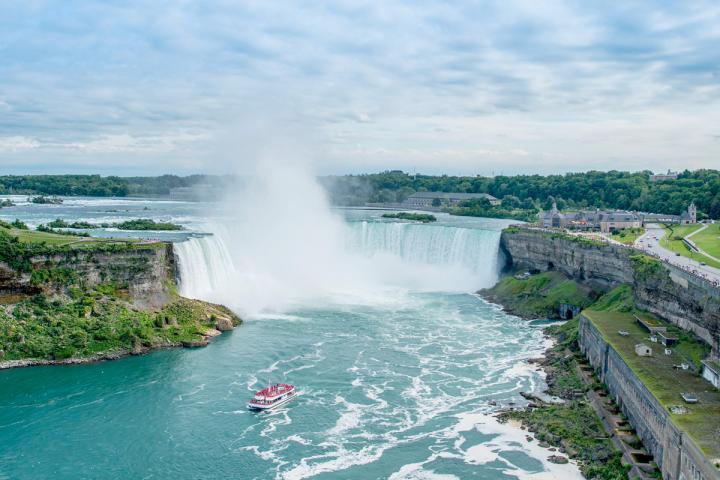 Bootsfahrt Niagara Falls