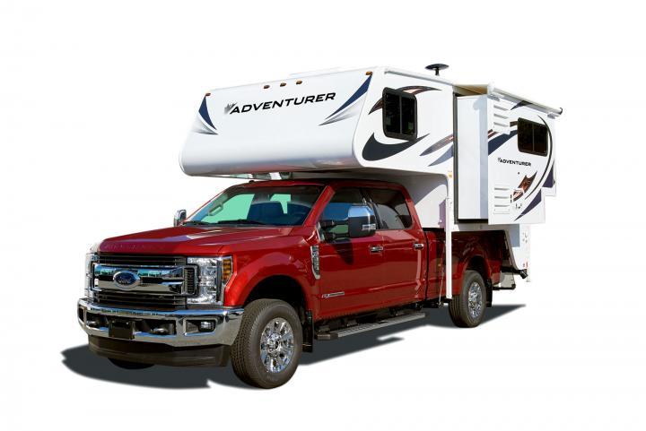 TC-S Truck Camper Slide