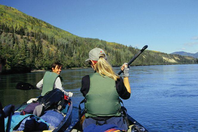 Yukon River Carmacks-Dawson