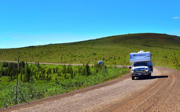 Von Whitehorse nach Calgary