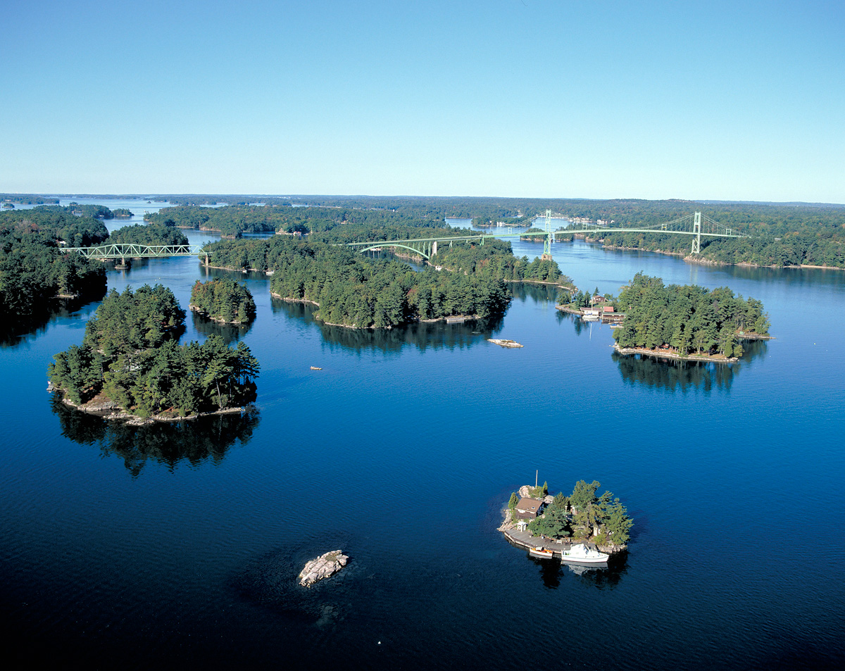 Camping In Thousand Islands On The Lawrence River