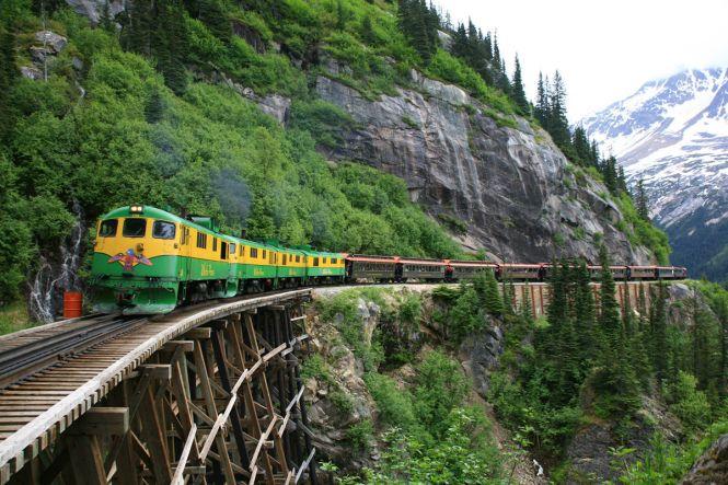 Alaska Railroad Scenic Rail Tour