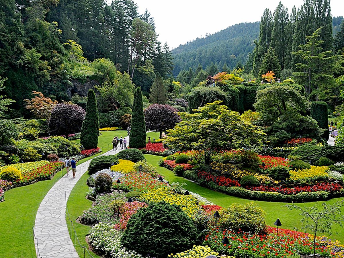 Kanada reise spezialist sk touristik victoria butchart gardens for Victoria s secret victoria gardens