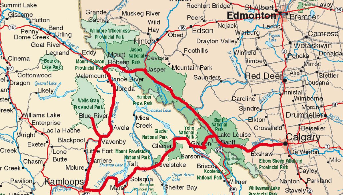 Kanada Spezialist SK Touristik | Rocky Mountains